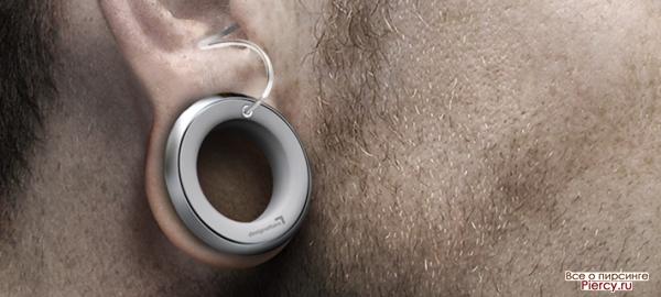 Пирсинг для людей с плохим слухом